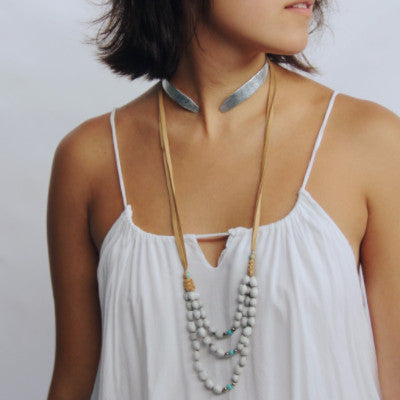 Extended Scoop Necklace