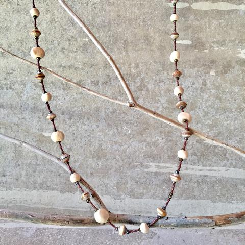 Haitian Signature Necklace - Long - 3 Colors