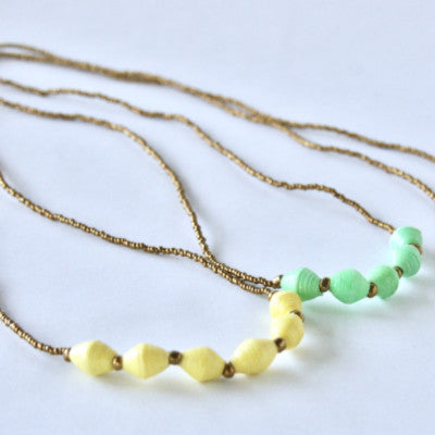 Marie George Necklace - 3 Colors Avail!