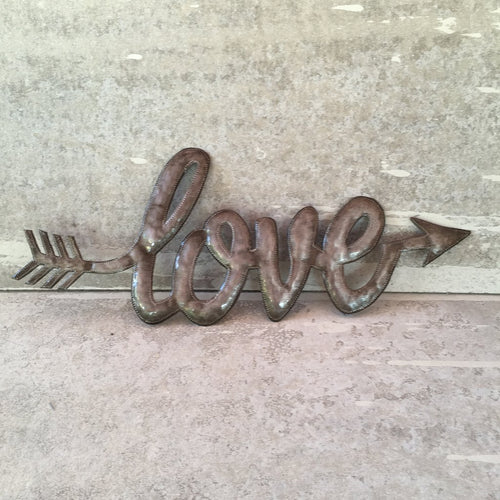 Love Arrow - Metal Art