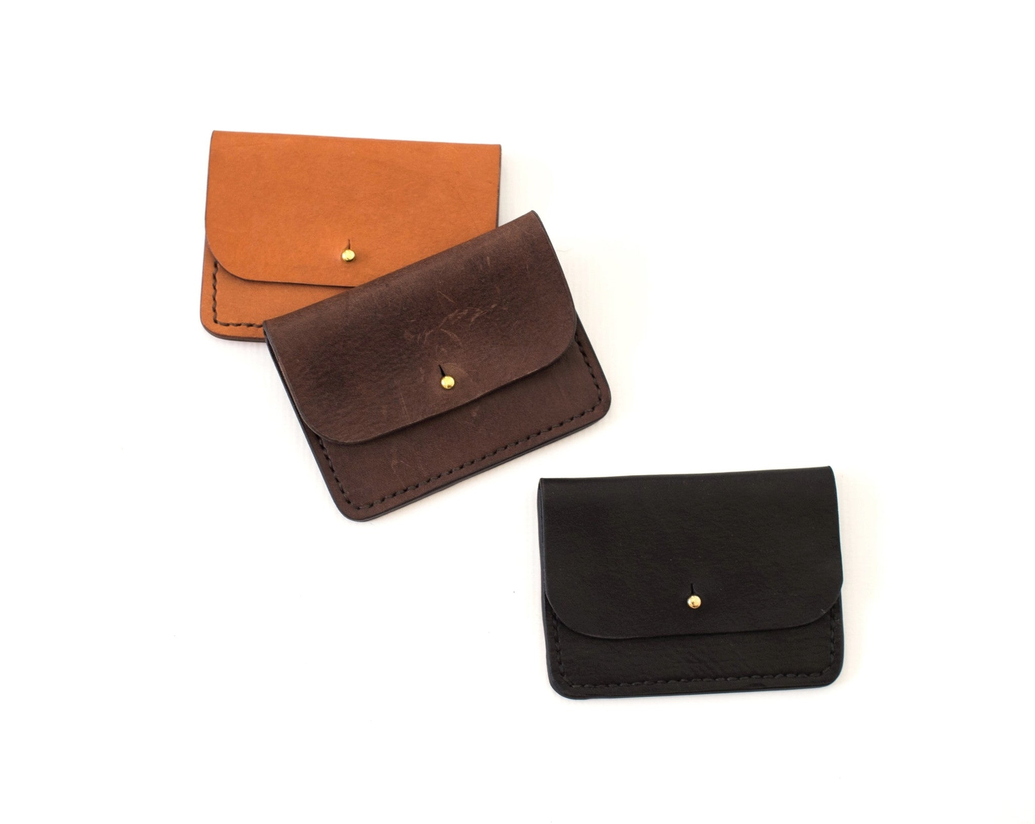 Mini Mia Leather Pouch - 3 Colors Avail!