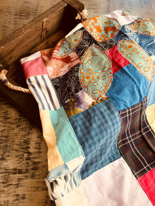 """Pieces"" Throw Blanket"