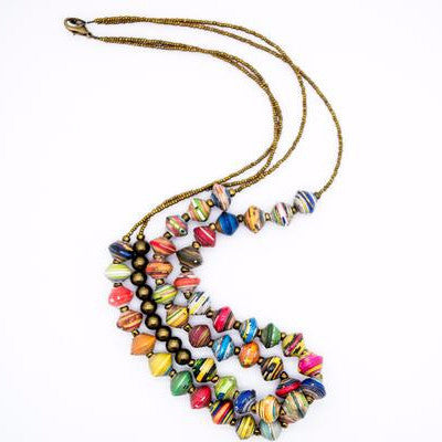 Venecienne Dual Strand Necklace
