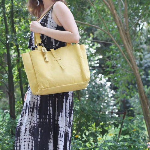 Sheepskin Leather Tote - 4 Colors Avail!