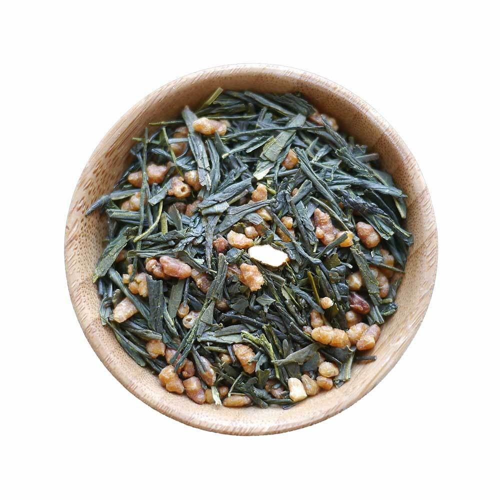 Premium Organic Loose Leaf Green Tea-Japan-Genmaicha