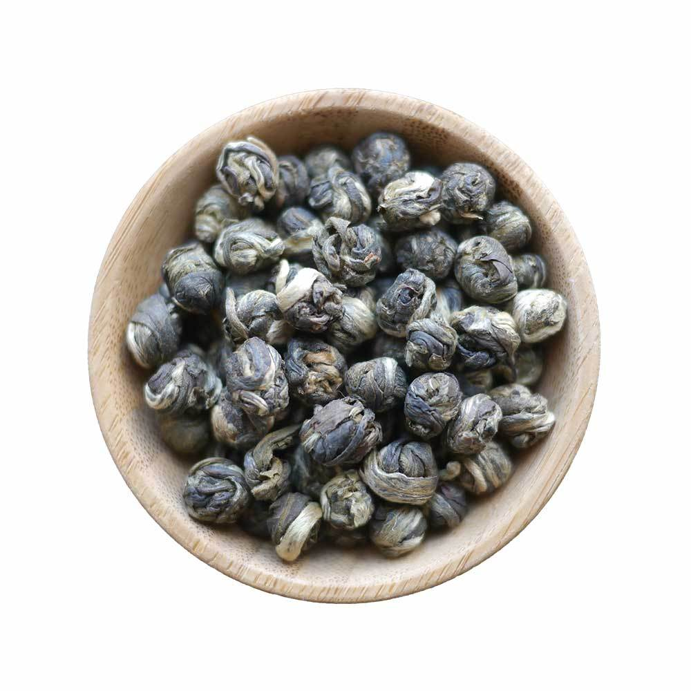 Premium Organic Loose Leaf Green Tea-China-Jasmine Pearls