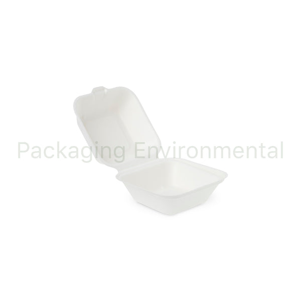 450ml-Takeaway-Box aus Bagasse | #BX030