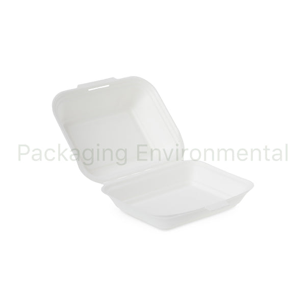 900ml-Takeaway-Box aus Bagasse | #BX050