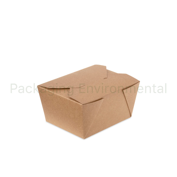 750ml-Takeaway-Box aus Kraftpapier | #QBX1