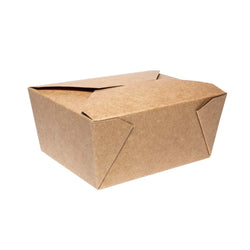 900ml-Takeaway-Box aus Kraftpapier | #QBX5