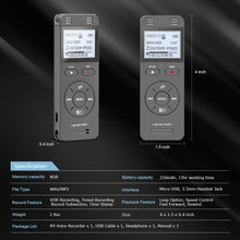 YEMENREN Digital Voice Recorder, R10 Audio Recorder