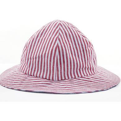 Myang Red Striped hat