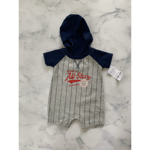 carters All Star Romper - Love Sam