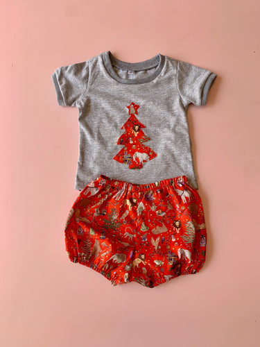 African christmas baby set