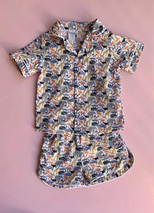 Liberty Zoo pajamas - Love Sam