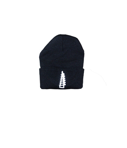 THINK WATTS Tower - Blk Skully / White Stitching