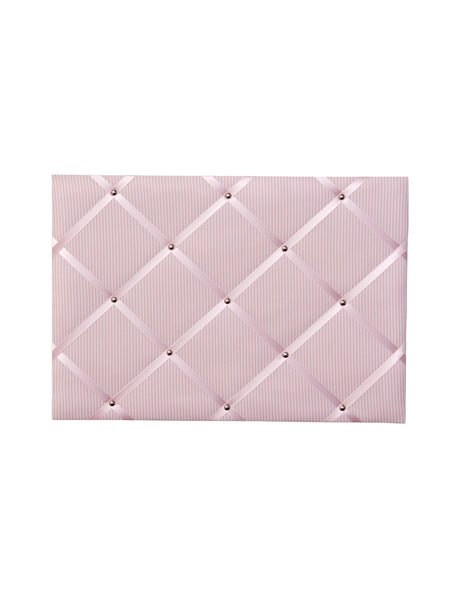 Memoboard VICHY STRIPES rose -  rose