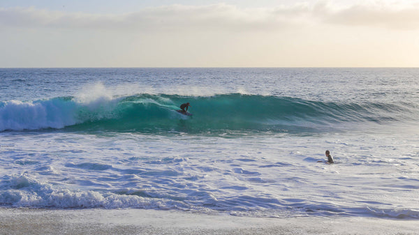 Blair getting straight dirty at home in Laguna at a secret spot.