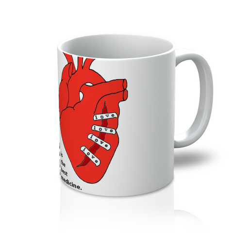 Love Medicine Coffee Mug