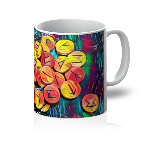 """The Runes"" Coffee Mug"