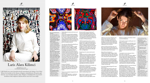 petals magazine interview Lar studio laris alara kilimci