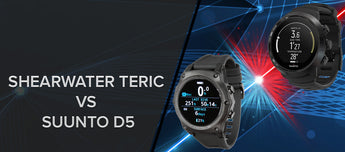 Tech Compare Suunto D5 Vs Shearwater Teric