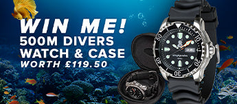 Win A Simply Scuba Dive Watch