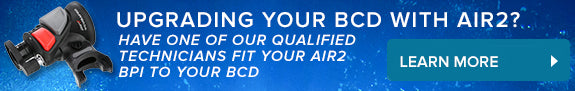 Upgrading your BCD with Air2?