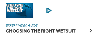 Need help selecting a wetsuit?