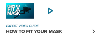 How to fit your dive mask