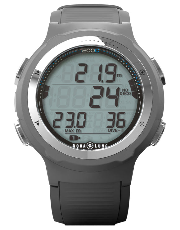 Aqua Lung I200C Dive Computer - Grey