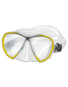 Scubapro Synergy Twin TruFit Mask - Clear/Yellow