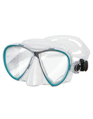 Scubapro Synergy Twin TruFit Mask - Clear/Turquoise