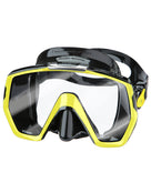 TUSA Freedom HD Mask - Black/Fluo Yellow
