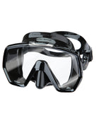 TUSA Freedom HD Mask - Black Frame/Black Silicone