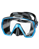 TUSA Freedom HD Mask - Black/Fishtail Blue