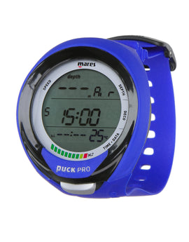 Mares Puck Pro Plus Dive Computer - Blue