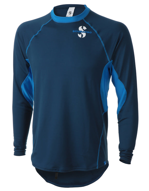 Scubapro Channel Flow Mens Rash Vest LS