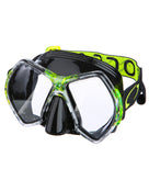 Oceanic Cyanea Mask - Black/Yellow