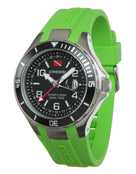 Cressi Traveller Dual Time Watch - Green