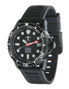 Szanto HLA Black Dive Watch - Black Face