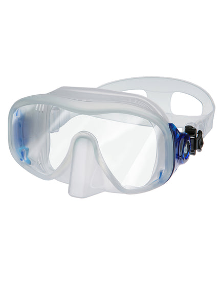 XS Scuba Merge 3 Mask - Clear Blue