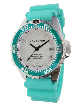 Momentum Splash Dive Watch - White Face