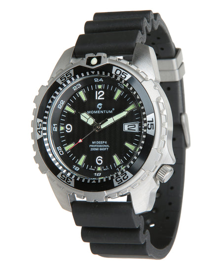 Momentum M1 Deep 6 Dive Watch - Black Face