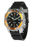 Momentum M1 Deep 6 Dive Watch - Orange Bezel