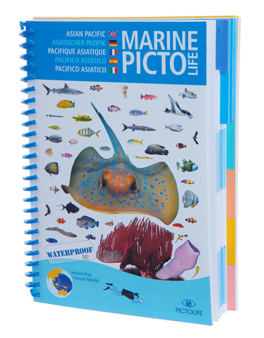 Simply Scuba Christmas dive diving Gifts Marine Pictolife book
