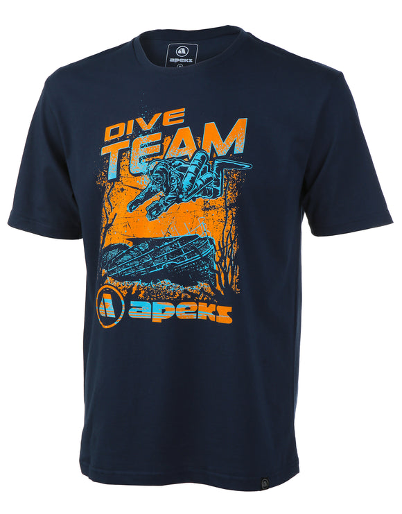 Apeks Dive Team Navy Tee