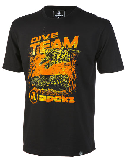 Apeks Dive Team Black Tee