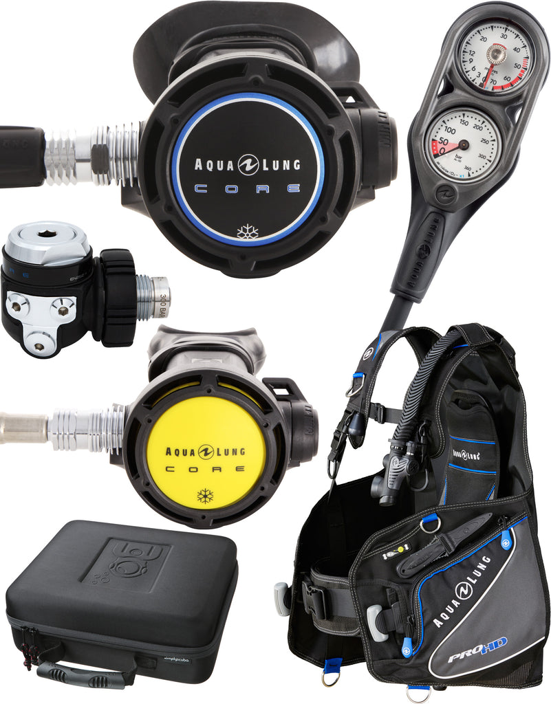 Simply Scuba AquaLung Open Water Package