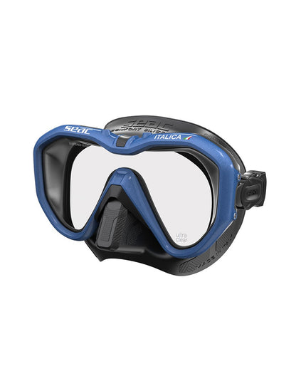 Seac Sub Italica Mask - Blue / Black